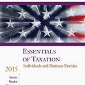 Solution Manual (Complete Download) for South-Western Federal Taxation 2015: Essentials of Taxation: Individuals and Business Entities, 18th Edition, James E. Smith, William A. Raabe, David M. Maloney, James C. Young, ISBN-10: 1285439740, ISBN-13: 9781285439747, Instantly Downloadable Solution Manual, Complete (ALL CHAPTERS) Solution Manual