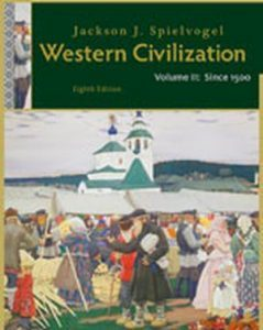Solution Manual (Complete Download) for Western Civilization: Volume II: Since 1500, 8th Edition, Jackson J. Spielvogel, ISBN-10: 111134213X, ISBN-13: 9781111342135, Instantly Downloadable Solution Manual, Complete (ALL CHAPTERS) Solution Manual