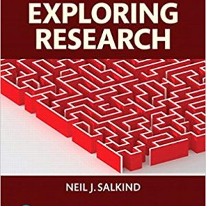 Solution manual for Exploring Research 9th Edition Neil J. Salkind ISBN 9780134238418