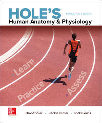 Solution manual for Hole's Human Anatomy & Physiology 15th Edition David Shier, Jackie Butler, Ricki Lewis ISBN 9781259864568