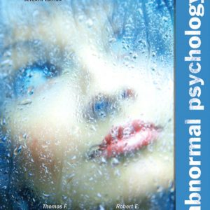Solution Manual (Complete Download) for Abnormal Psychology, 7/E, Thomas F. Oltmanns, University of Virginia, Robert E. Emery, ISBN-10: 0205037437, ISBN-13: 9780205037438, ISBN-10: 0205229263, ISBN-13: 9780205229260, Instantly Downloadable Solution Manual, Complete (ALL CHAPTERS) Solution Manual