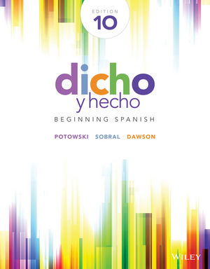 Solution manual for Dicho y hecho: Beginning Spanish 10th Edition by Potowski