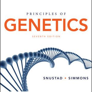 Solution manual for Principles of Genetics 7th Edition by Snustad