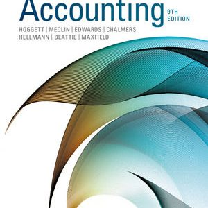 Test bank for Accounting 9th Edition by Hoggett