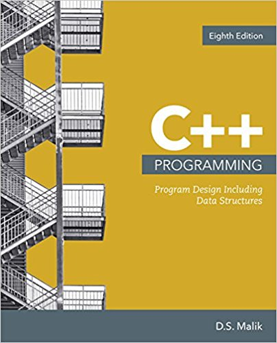 Test bank for C++ Programming: Program Design Including Data Structures 8th Edition by Malik