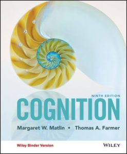 Test bank for Cognition 9th Edition by Matlin
