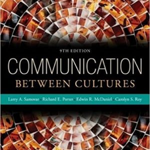 Test bank for Communication Between Cultures 9th Edition by Samovar