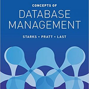 Test bank for Concepts of Database Management 9th Edition by Starks