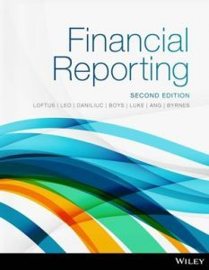 Test bank for Financial Reporting 2nd Edition by Loftus