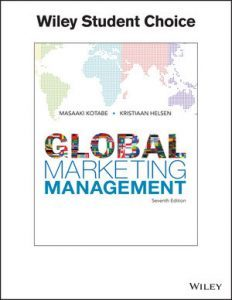 Test bank for Global Marketing Management 7th Edition by Kotabe