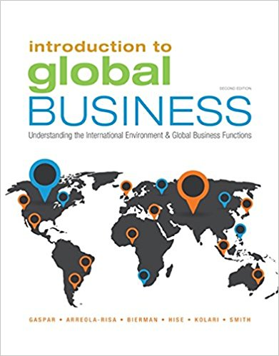 Test bank for Introduction to Global Business 2nd Edition by Gaspar