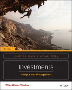 Test bank for Investments: Analysis and Management 13th Edition by Jones