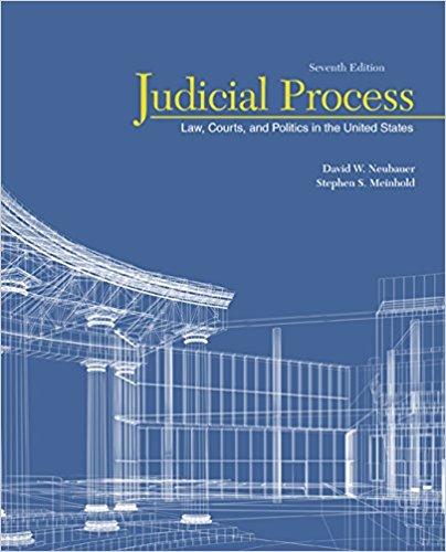 Test bank for Judicial Process: Law, Courts, and Politics in the United States 7th Edition by Neubauer