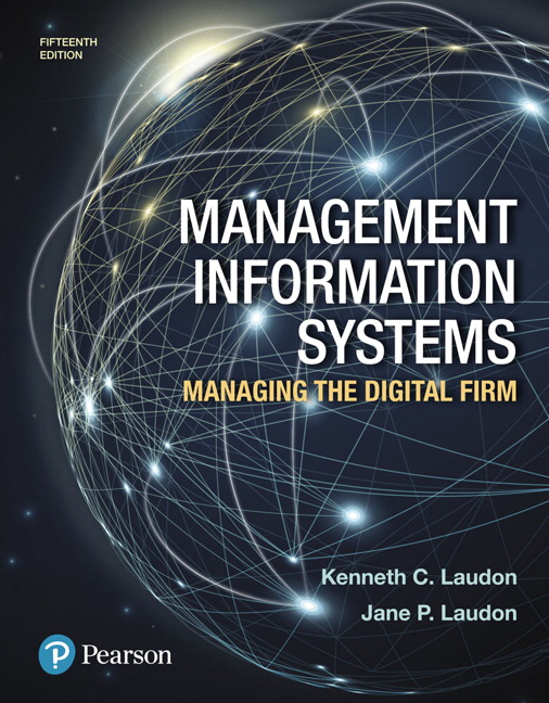 Test bank for Management Information Systems: Managing the Digital Firm 5th Edition by Laudon