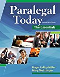 Test bank for Paralegal Today: The Essentials 7th Edition by Miller