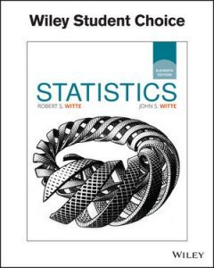 Test bank for Statistics 11th Edition by Witte