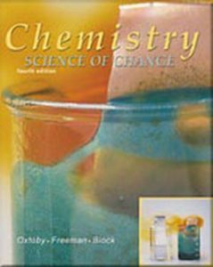 Solution Manual (Complete Download) for Chemistry: Science of Change, 4th Edition, David W. Oxtoby, ISBN-10: 0030331889, ISBN-13: 9780030331886, Instantly Downloadable Solution Manual, Complete (ALL CHAPTERS) Solution Manual