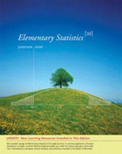 Solution Manual (Complete Download) for Elementary Statistics, Enhanced Review Edition, 10th Edition, Robert R. Johnson, Patricia J. Kuby, ISBN-10: 0495383864, ISBN-13: 9780495383864, Instantly Downloadable Solution Manual, Complete (ALL CHAPTERS) Solution Manual
