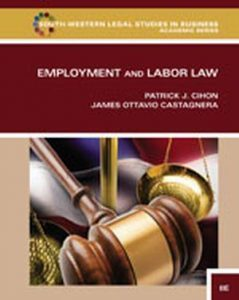 Solution Manual (Complete Download) for Employment and Labor Law, 8th Edition, Patrick J. Cihon, James Ottavio Castagnera, ISBN-10: 1133586600, ISBN-13: 9781133586609, Instantly Downloadable Solution Manual, Complete (ALL CHAPTERS) Solution Manual