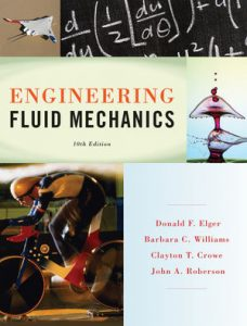 Solution Manual (Complete Download) for Engineering Fluid Mechanics, 10th Edition, by Donald F. Elger, Barbara C. Williams, Clayton T. Crowe, John A. Roberson, ISBN : 9781118542934, ISBN : 9781118372203, ISBN 9781118164297, Instantly Downloadable Solution Manual, Complete (ALL CHAPTERS) Solution Manual