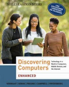Solution Manual (Complete Download) for Enhanced Discovering Computers, 1st Edition, Misty E. Vermaat, ISBN-10: 1285845501, ISBN-13: 9781285845500, Instantly Downloadable Solution Manual, Complete (ALL CHAPTERS) Solution Manual