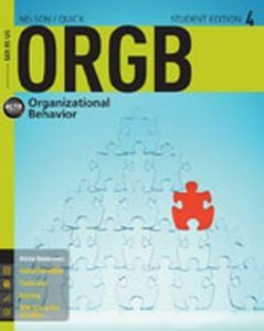 Solution Manual (Complete Download) for ORGB 4, 4th Edition, Debra Nelson, James Campbell Quick, ISBN-10: 1285423267, ISBN-13: 9781285423265, Instantly Downloadable Solution Manual, Complete (ALL CHAPTERS) Solution Manual