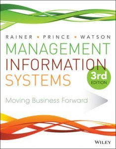 Solution Manual (Complete Download) for Management Information Systems, 3rd Edition, R. Kelly Rainer, Brad Prince, Hugh J. Watson, ISBN: 111889538X, ISBN : 978-1-118-89534-4, ISBN : 978-1-118-90582-1, ISBN : 978-1-118-89538-2, ISBN : 9781118895344, ISBN : 9781118905821, ISBN : 9781118895382, Instantly Downloadable Solution Manual, Complete (ALL CHAPTERS) Solution Manual