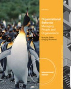Solution Manual (Complete Download) for Organizational Behavior: Managing People and Organizations, International Edition, 11th Edition, Ricky W. Griffin, Gregory Moorhead, ISBN-10: 1133586287, ISBN-13: 9781133586289, Instantly Downloadable Solution Manual, Complete (ALL CHAPTERS) Solution Manual