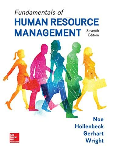 Solution manual for Fundamentals of Human Resource Management 7th Edition Raymond Noe, John Hollenbeck, Barry Gerhart, Patrick Wright ISBN 9781259686702
